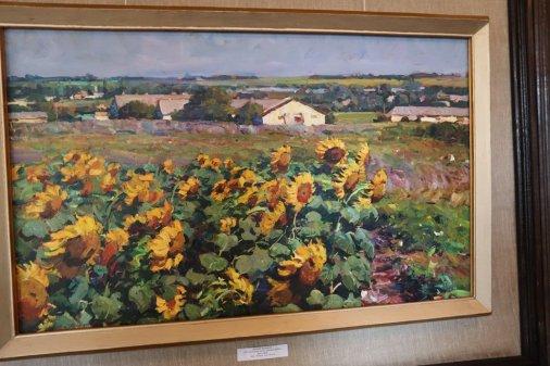 Анатолій Шаповалов із Аджамки показав у Кропивницькому свої картини