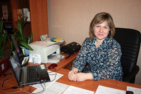 Тетяна Зайченко, фото з сайту Адажмської сільради