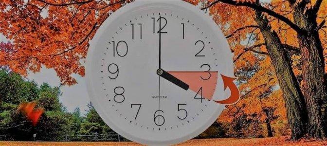 Зимовий час: Переведіть стрілки годинника на годину назад!