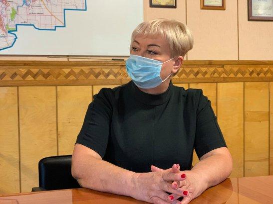 Голова Кропивницької райдержадміністрації Алла Поліщук